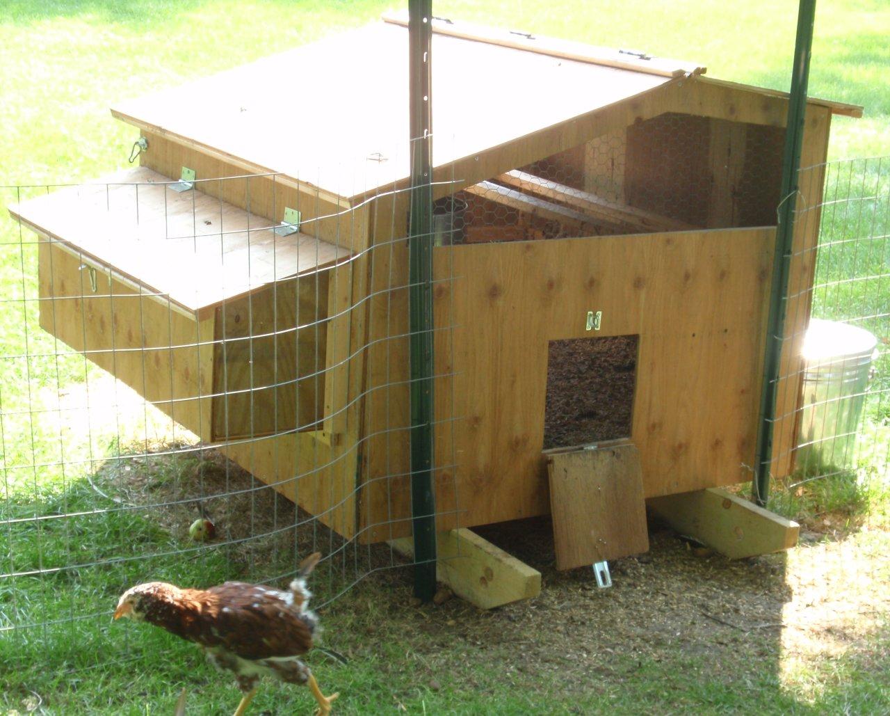 Chicken Coop Door Design | Table and