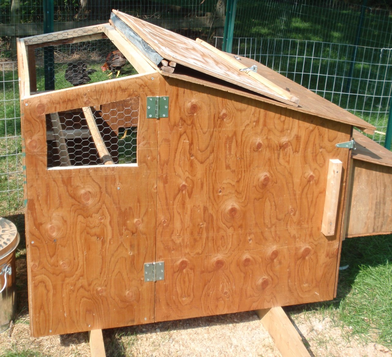 small chicken coop inside viewing gallery. Black Bedroom Furniture Sets. Home Design Ideas