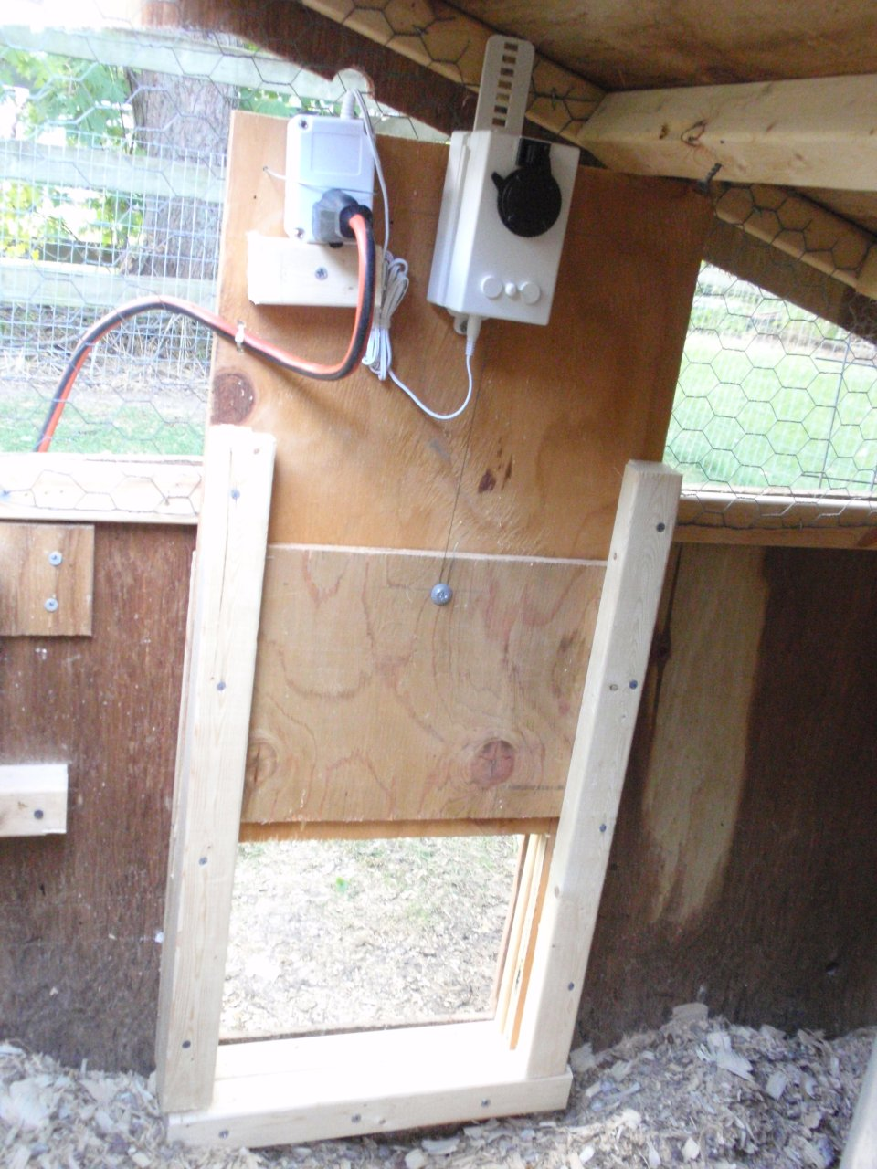 Automatic Chicken Coop Door Conversion Phase Two
