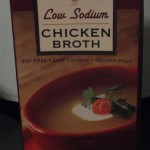 Store bought chicken stock.
