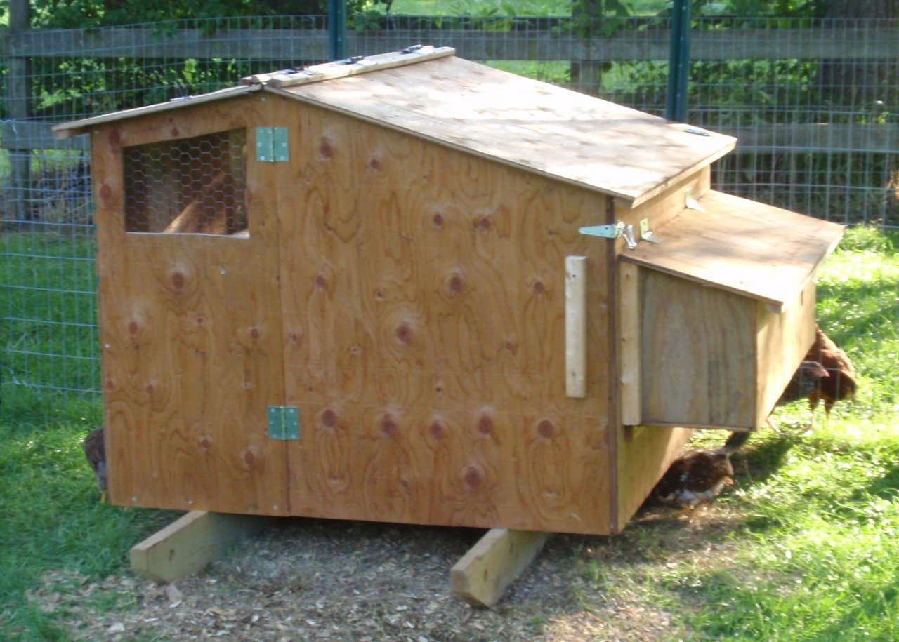 Chcken Coop Chicken Coop Plans For 6 8 Hens