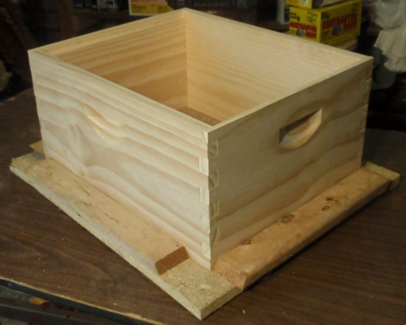 Hive Body And Honey Super Construction