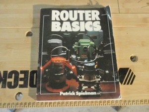 Cover of router basics by Patrick Spielman.