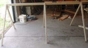 Catawba coop frame