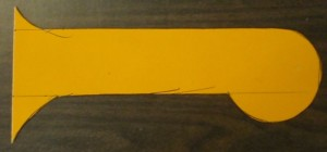 Template for Catawba Coop handles.