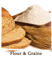 flour and grains