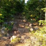 Rocky path up a hill