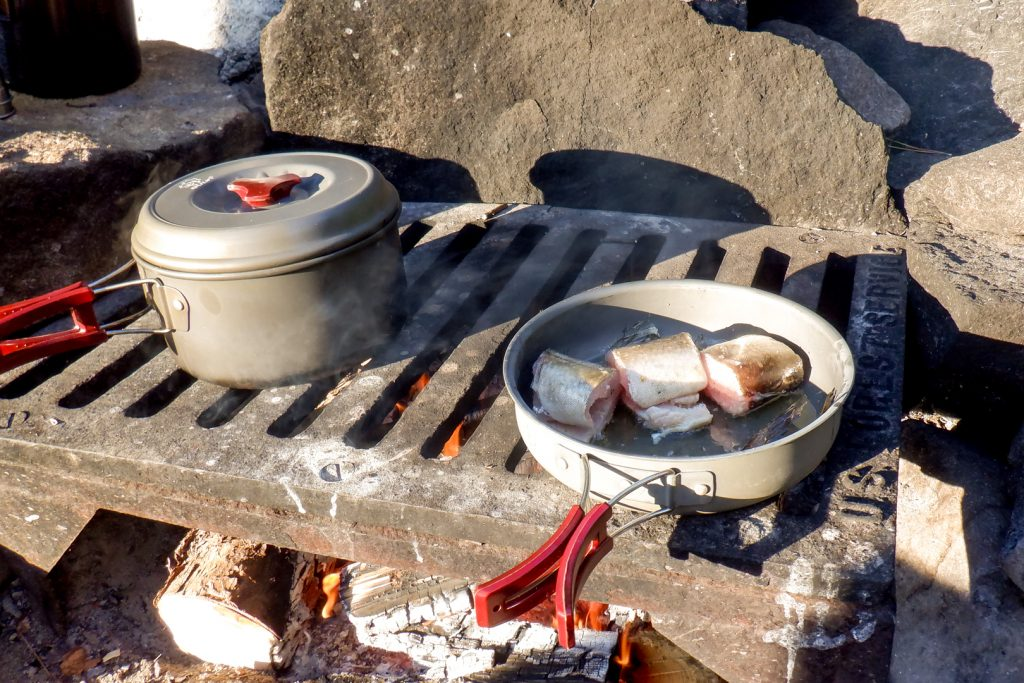 lake trout cooking