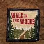 walk in the woods towel