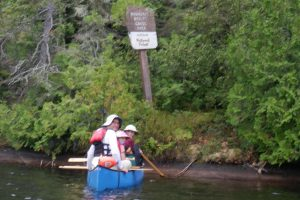 border of the boundary waters
