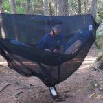 ctg sits in a hammock